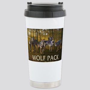 Eclipse Wolf Pack Stainless Steel Travel Mug