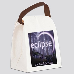 Twilight Eclipse Canvas Lunch Bag
