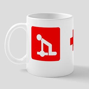 2-redcross t shirt Mug