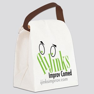 hijinks-press-sm Canvas Lunch Bag