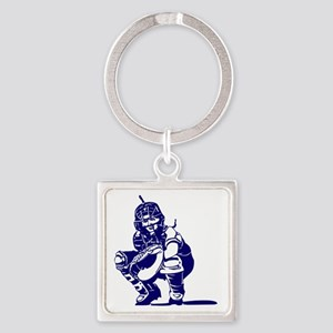 2102534_BLUE Square Keychain