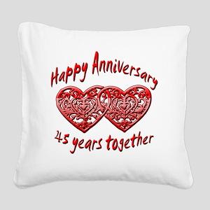 ann 45 Square Canvas Pillow