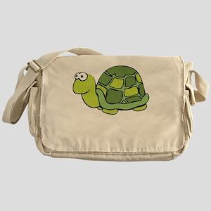 Save Turtles -blk Messenger Bag