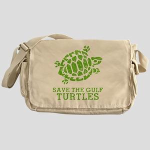 Green Turtle Messenger Bag