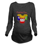 Fueled by Jam Long Sleeve Maternity T-Shirt