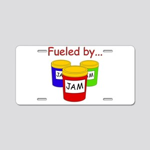 Fueled by Jam Aluminum License Plate