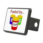 Fueled by Jam Rectangular Hitch Cover