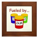 Fueled by Jam Framed Tile