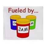 Fueled by Jam Throw Blanket