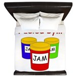 Fueled by Jam King Duvet