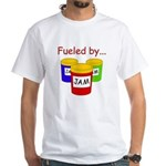 Fueled by Jam White T-Shirt