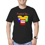 Fueled by Jam Men's Fitted T-Shirt (dark)