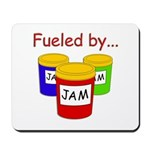 Fueled by Jam Mousepad