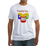 Fueled by Jam Fitted T-Shirt
