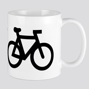 Burn fat, not oil (cycling) Mug