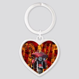 AB54 C-JOURNAL Heart Keychain