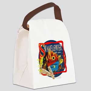 EclipseMovie_Swanflower1 Canvas Lunch Bag
