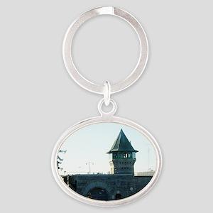 folsomprison Oval Keychain