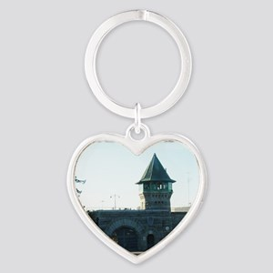 folsomprison Heart Keychain