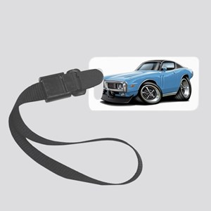 1973-74 Charger Lt Blue-Black To Small Luggage Tag