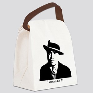 caponelegalizeshirt Canvas Lunch Bag