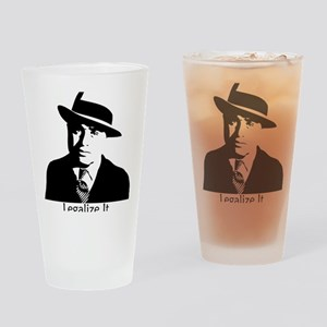 caponelegalizeshirt Drinking Glass