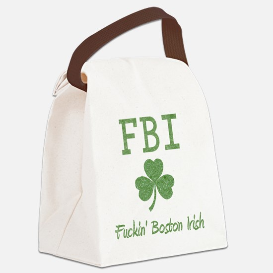 fbi-irish Canvas Lunch Bag