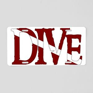 Dive006_SmartO Aluminum License Plate
