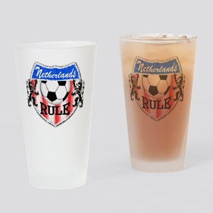 Netherlands Rule Drinking Glass