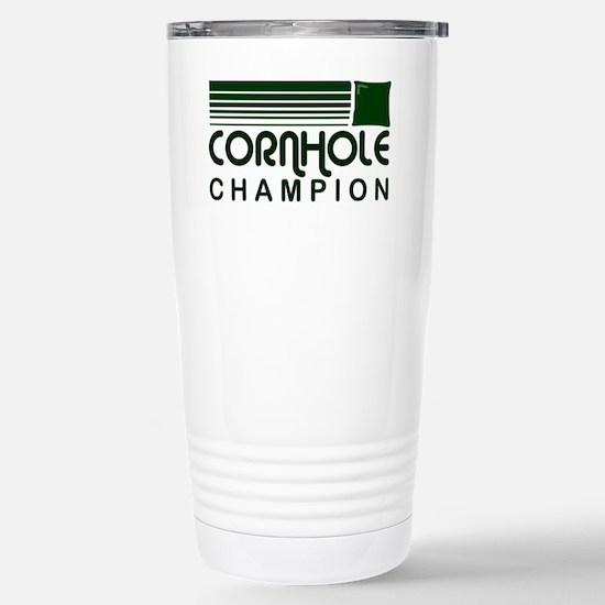 cornholeretro1 Stainless Steel Travel Mug