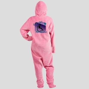 2-dontdis1 Footed Pajamas