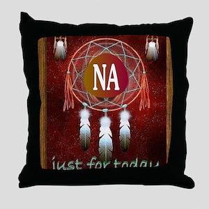 2-NA INDIAN Throw Pillow