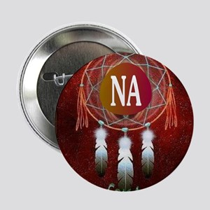 """2-NA INDIAN 2.25"""" Button"""