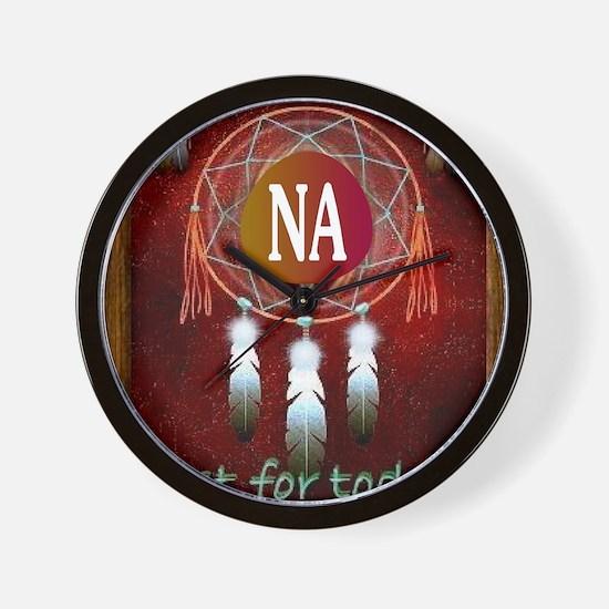 2-NA INDIAN Wall Clock