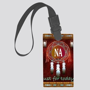 2-NA INDIAN Large Luggage Tag