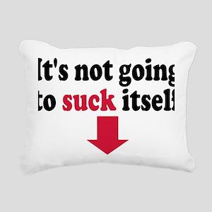 suck_itself Rectangular Canvas Pillow
