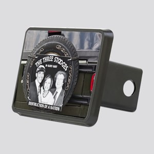 2-3stooges Rectangular Hitch Cover