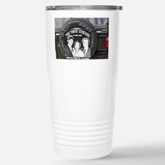 2-3stooges Stainless Steel Travel Mug