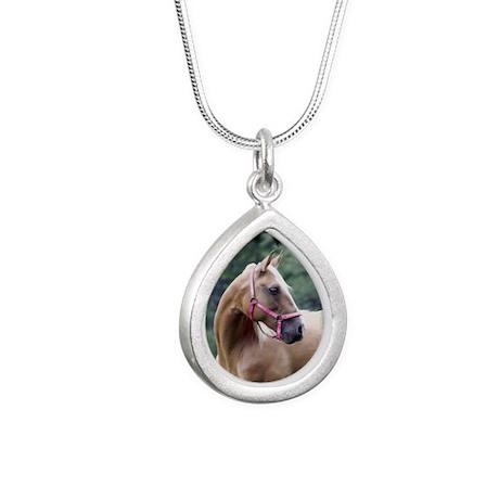 Untitled-3 Silver Teardrop Necklace