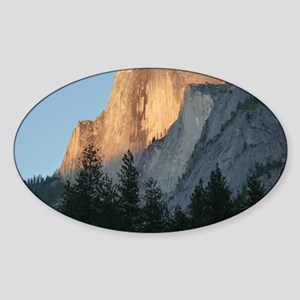 Yosemite_Half_Dome Sticker (Oval)