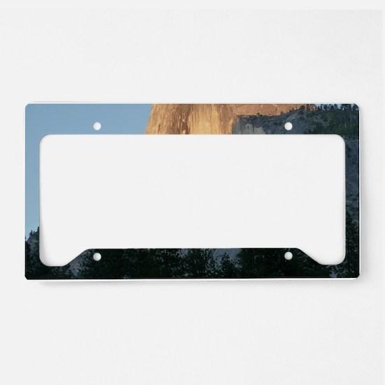 Yosemite_Half_Dome License Plate Holder