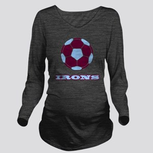 IRONS copy Long Sleeve Maternity T-Shirt