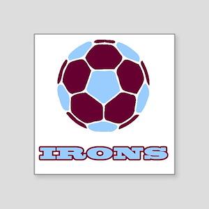 "IRONS copy Square Sticker 3"" x 3"""
