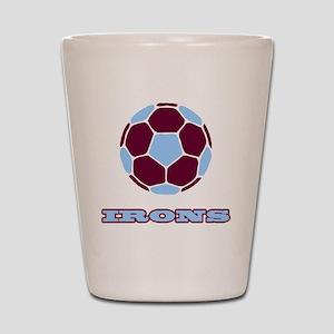 IRONS copy Shot Glass