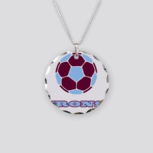 IRONS copy Necklace Circle Charm