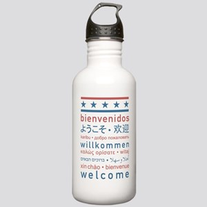 welcome8_final Stainless Water Bottle 1.0L