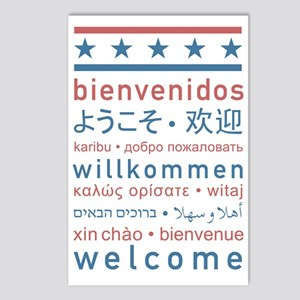 welcome8_final Postcards (Package of 8)