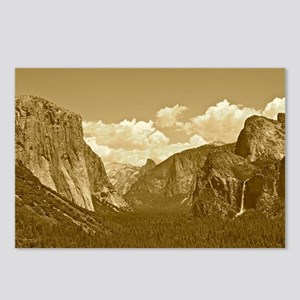 tunnel-view-sepia Postcards (Package of 8)