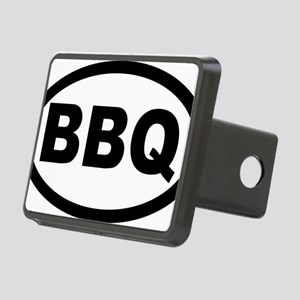 bbq_car Rectangular Hitch Cover