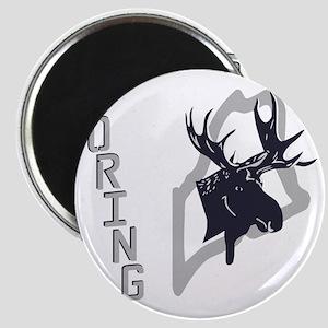 Loring - Moose - Ghost Grey Magnet